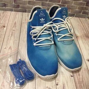 Adidas Pharrell blue ombré sneakers